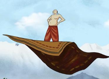 guru-nanak-flying-carpet
